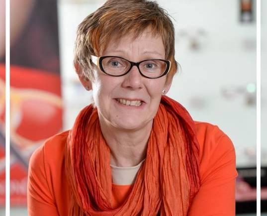 Christel Meier auf der Nöllenburg